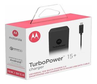 Carregador Motorola Turbo Power Moto G4 G5 X2 100% Origina