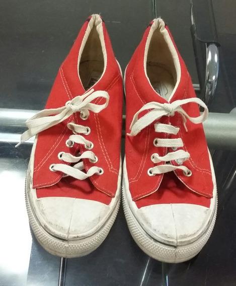 Zapatillas 725 Kids Rojo Y Blanco 39