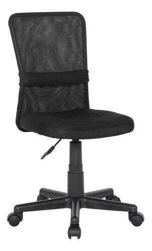 Cadeira De Escritório C/ Base Giratória Reclinavel Até 120kg