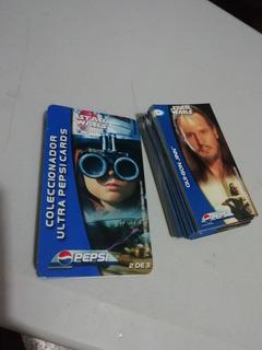 Ultra Pepsi Cards Star Wars Episodio I Guerra De Galaxias