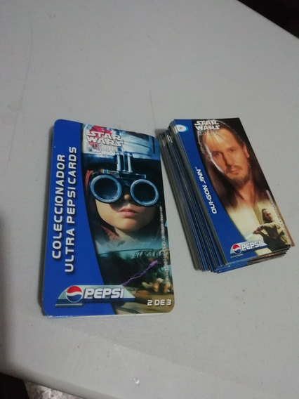 Ultra Pepsi Cards Star Wars Episodio I Guerra De Galaxias
