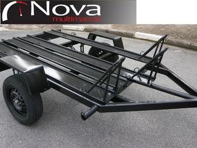 Carretinha Para Transporte De Motos