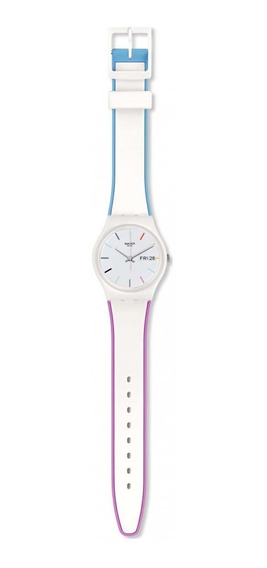 Reloj Edgyline Blanco Swatch
