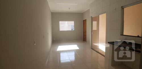 Imagem 1 de 14 de Casa Com 3 Dormitórios À Venda, 90 M² Por R$ 230.000 - Planalto - Araçatuba/sp - Ca1133