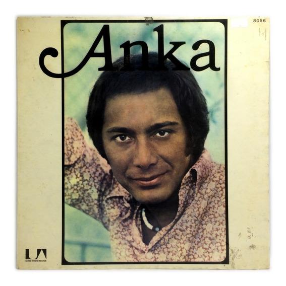 Vinilo Paul Anka Anka Lp Argentina 1974 Tapa Desplegable