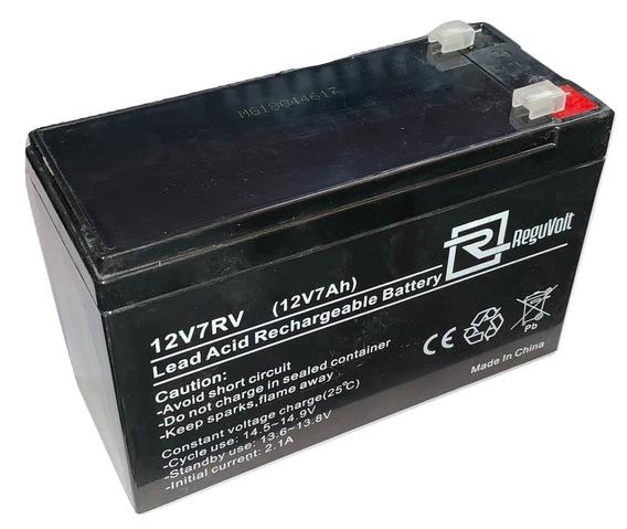 Bateria De Gel 12v 7 A Amp Para Ups Alarma Domiciliaria