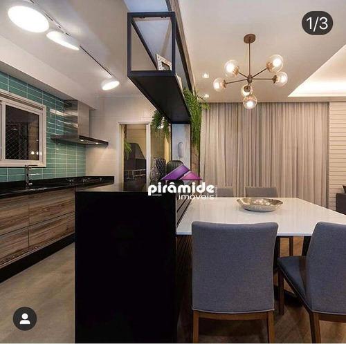 Apartamento À Venda, 124 M² Por R$ 970.000,00 - Jardim Esplanada - São José Dos Campos/sp - Ap12538