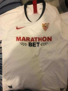 Playera, Jersey Del Sevilla Original. Comprada En España