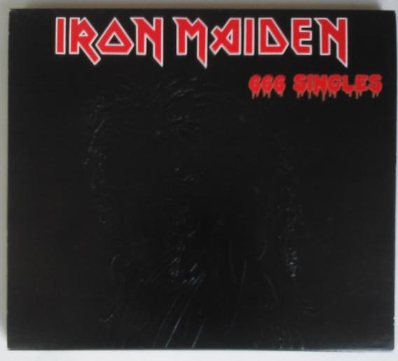Cd Iron Maiden 666 Singles Com Luva Protetora Importado