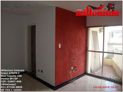 Apartamento Para Aluguel, 2 Dormitórios, Cangaíba - São Paulo - 732