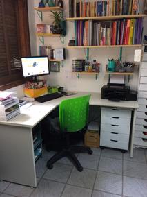 Mesa Em L Escritório Ou Home-office