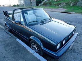 Volkswagen Golf Cabriolet Alemán Año 1990