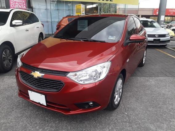 Chevrolet Aveo Paq. C Mod. 2020 Color Rojo
