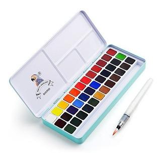 Acuarelas Profesionales 36 Colores