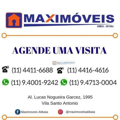 Salão Comercial Para Locação, Jardim Do Alvinópolis, Atibaia. - Sl0018