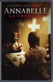 Annabelle 2 La Creacion Pelicula Dvd