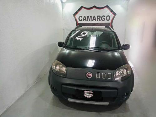 Imagem 1 de 6 de Fiat Uno 2012 1.0 Way Flex 5p