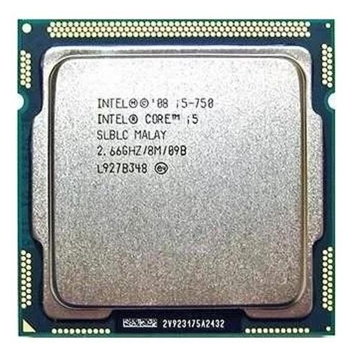 Processador Intel® Core I5 - 750 Lga 1156
