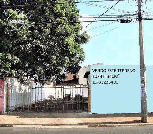 Terreno Comercial Venda E Locação, Ipiranga, Ribeirão Preto - Te0413