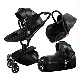 Coche Aulon Baby Stroller 3 En 1 Original + Envío Gratis!