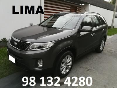 Lima Alquiler Camioneta 3 Filas Kia Sorento Auto S/180xd 4x4