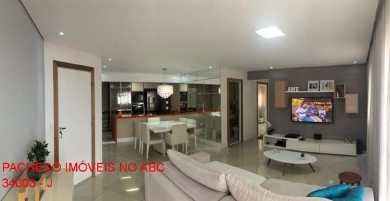 Apartamento Arcadia 104m 2 Suítes 2 Vagas Com Moveis Planejados Mobiliado Centro São Bernardo Do Campo - Ap03360 - 34727072