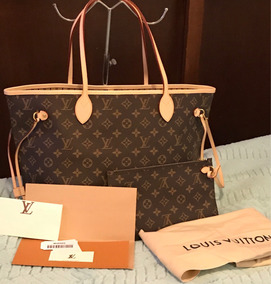 Louis Vuitton Neverfull ,mm Monogram Pochette , Factura ***