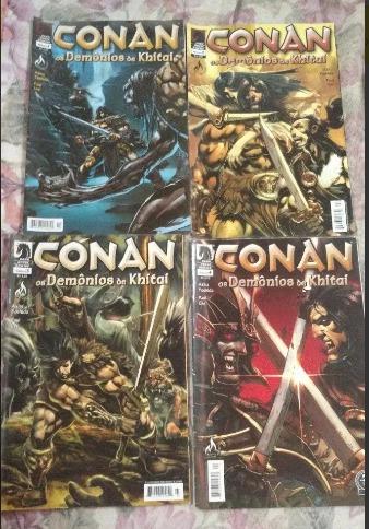 Conan Os Demônios De Khitai