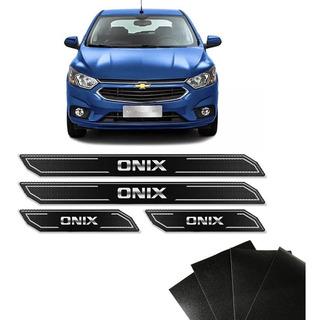 Soleira Protetora Da Porta Onix Plus 2020 Premier Resinada