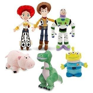 Woody Lotso Jessie Buzz Pig Alien 06 Pçs Toy Story 30/17cm