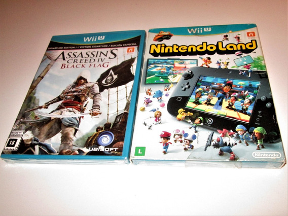 Nintendo Wii U Loadiine Gx2 Assassins Creed 3 - Video Games