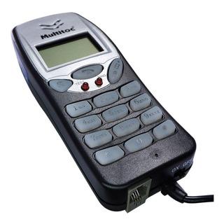 Badisco Teste Linha Telefonica C/ Display Lcd Conector Jig