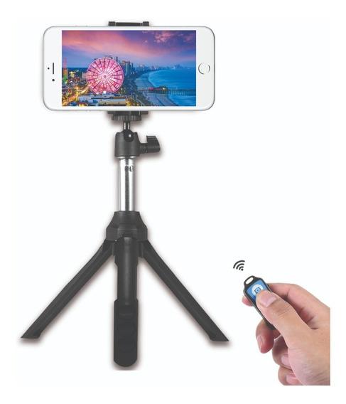 Tripie/selfie Stick Bluetooth Uso Celular, Cámaras Y Gopro