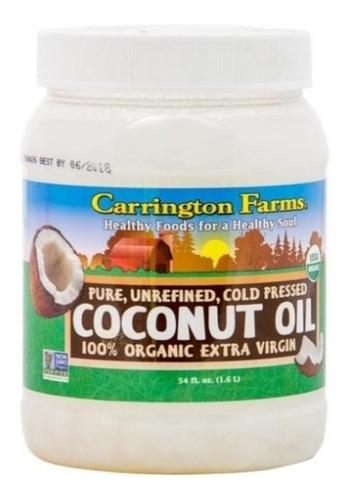 Aceite De Coco Carrington Farms. - Unidad a $94500
