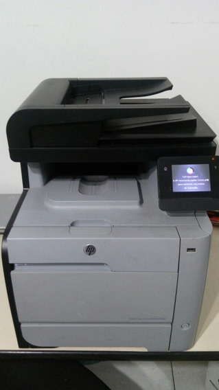Impressora Multifuncional Hp Laserjet M476 Dw! Toners Novos