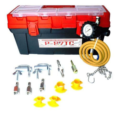 Imagen 1 de 2 de Equipo Boya Presurizado Para Lavar Inyectores Con Bote