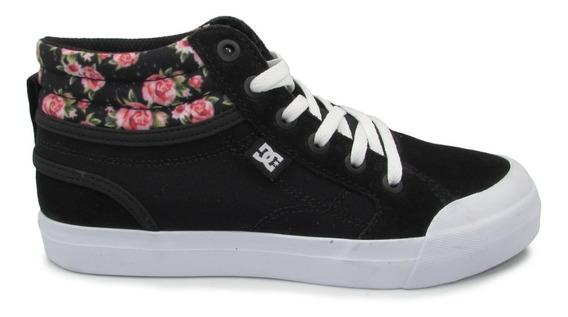 Tenis Dc Shoes Evan Hi Se Youth Adgs300070 Bkn Black Print
