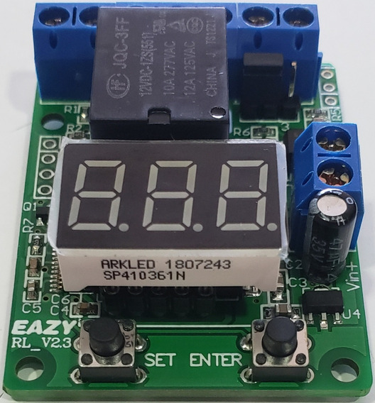 Automatico Controlador Carga Bateria Ou Sistema Solar Rele