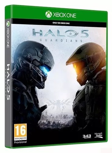 Halo 5: Guardians (mídia Física) - Xbox One