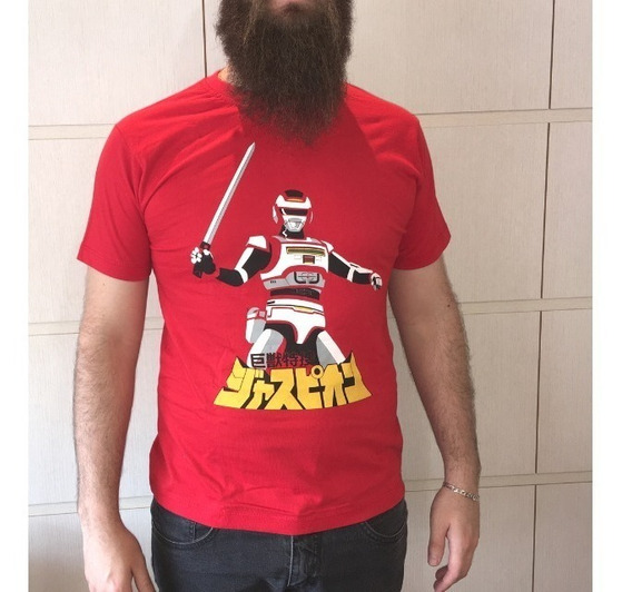 Camiseta Changeman Jaspion