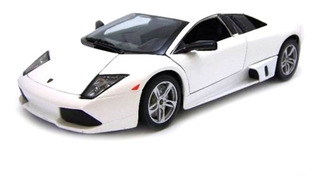 Miniatura Lamborghini Murciélago Lp640 2007 Branco 1/18