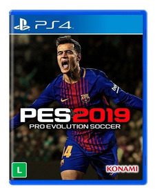 Pes 19 Ps4 Pro Evolution Soccer 2019 Mídia Física