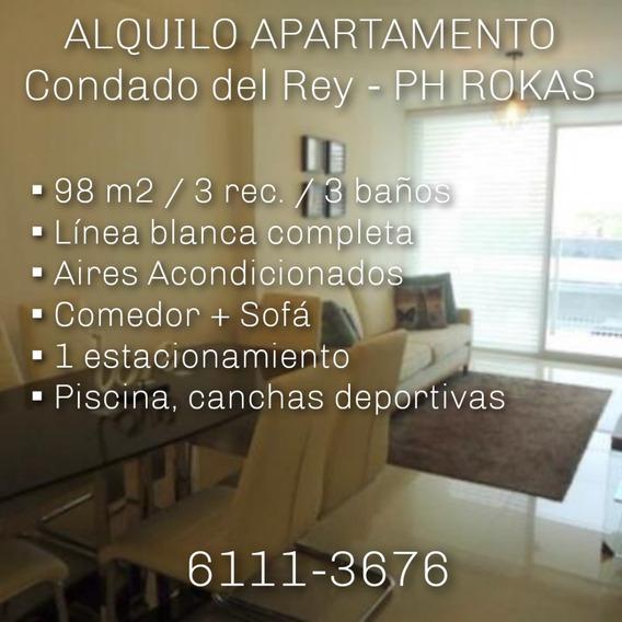 Alquilo Apartamento - Condado Del Rey / Ph Rokas