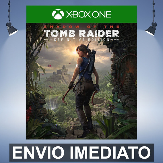 Shadow Of The Tomb Raider Definitive - Xbox One Código