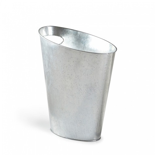 Papelera Metal Galvanizado Marca Umbra - Modelo Skinny