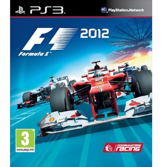Usado Jogo Ps3 F1 2012 - Codemasters