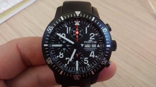 A Relogio Fortis B-42 Titanium Cronometro Automático Omega