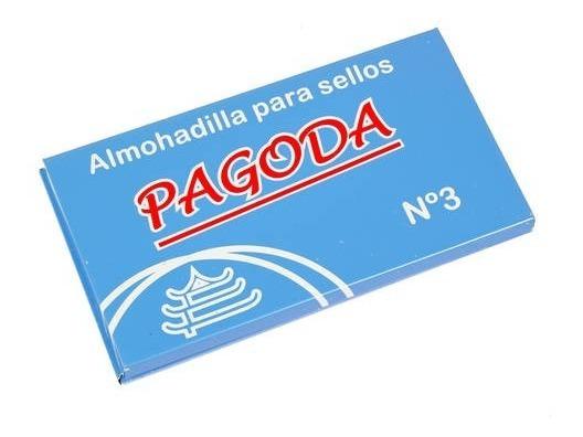 Almohadilla Para Sello Nº 3 Envase Metalico Pagoda
