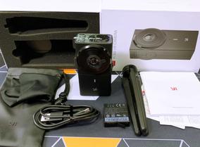 Câmera Xiaomi Yi 360º Vr   5.7k   Lentes Duplas 220º   Novo