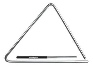 Triângulo Em Aço Cromado 35 Cm Liverpool Tr 35